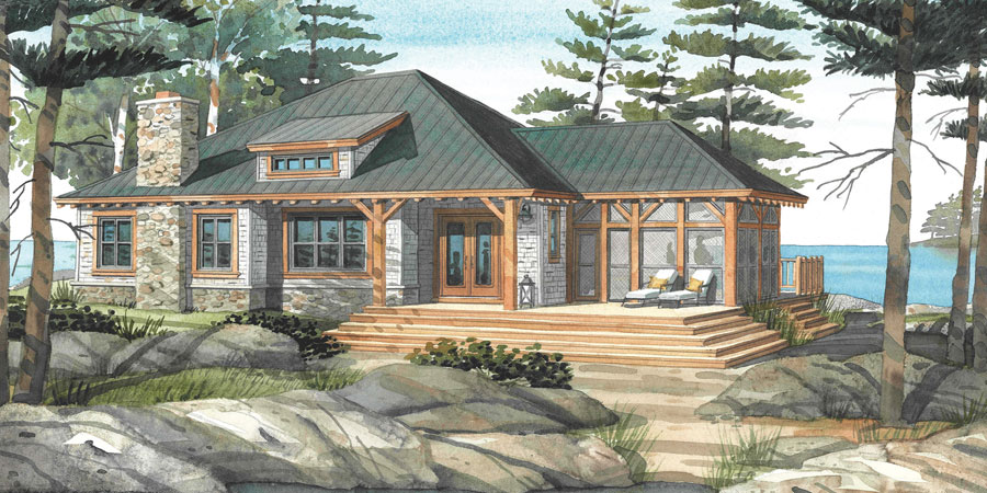 Cottage Plans & Custom Home Designs | Normerica Cottage & Custom