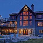 Normerica Timber Frame, Exterior, Cottage, Rear View, Patio, Fire Pit
