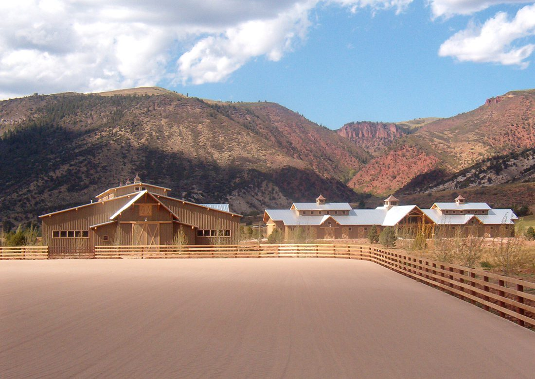 Normerica Timber Frames, Commercial Project, Chaparral Ranch, Aspen, USA, Exterior
