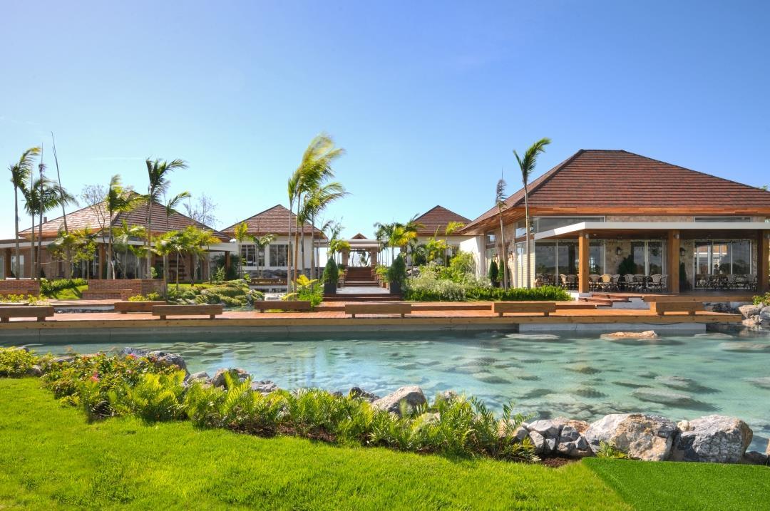 Normerica Timber Frames, Commercial Project, Dominican Republic, Los Establo, Casa Club, Resort