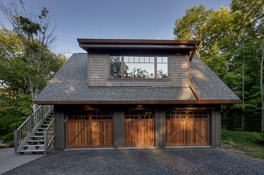 Normerica Timber Frame, Exterior, Cottage, Garage