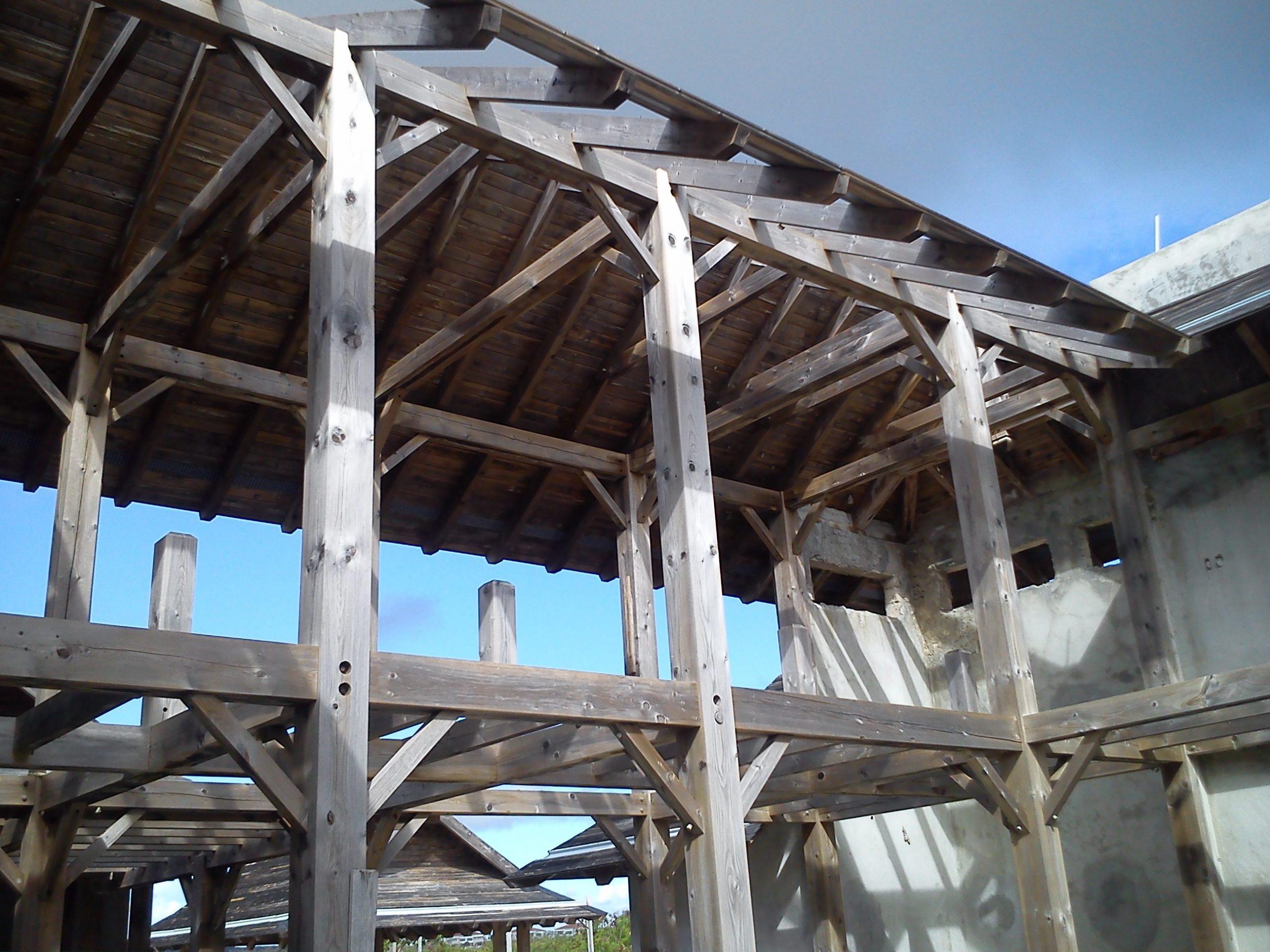 Normerica Timber Frames, Commercial Project, Las Iguana Villas, Dominican Republic, Villas, Construction