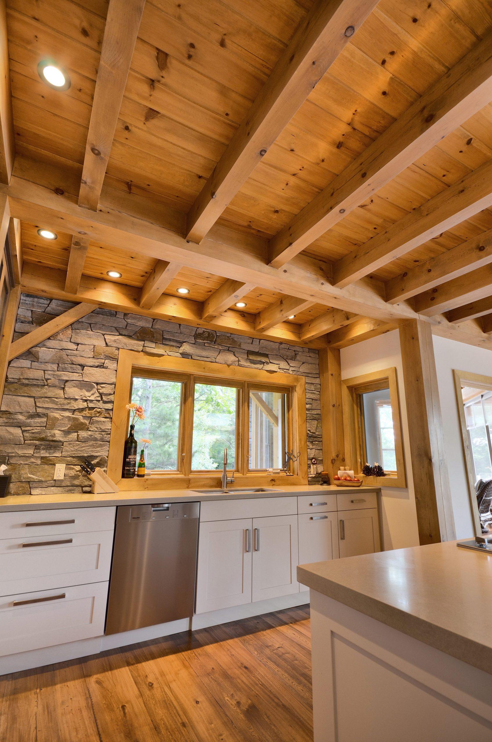 Normerica Timber Frame, Cottage, Interior, Kitchen