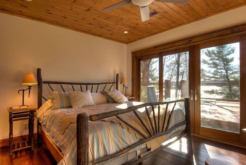 Normerica Timber Frame, Interior, Custom, Cottage, Bedroom
