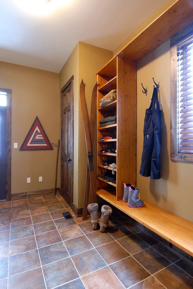 Normerica Timber Frame, Interior, Mudroom