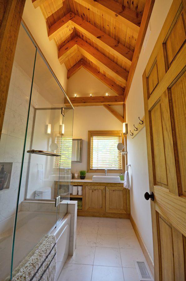 Normerica Timber Frame, Cottage, Interior, Bathroom