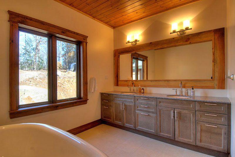 Normerica Timber Frame, Interior, Custom, Cottage, Bathroom