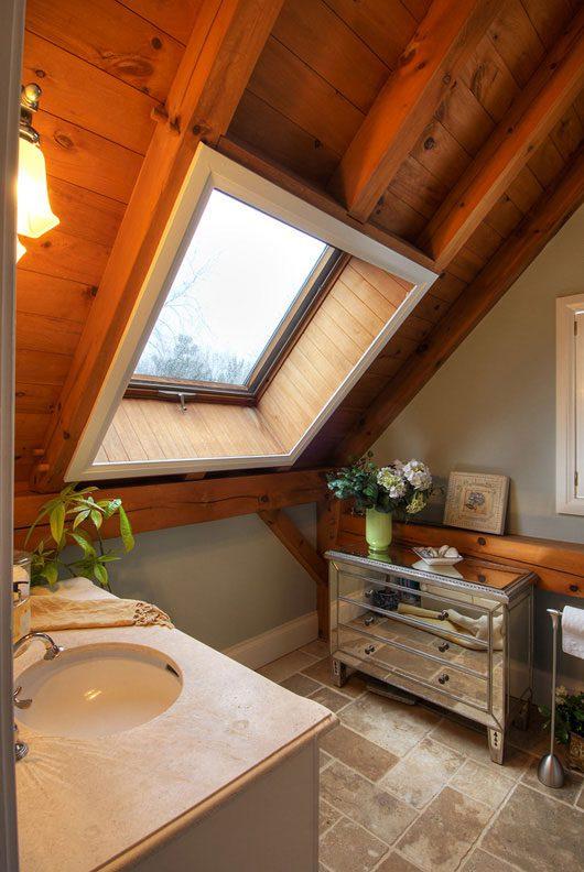 Normerica Timber Frame, Interior, Bathroom