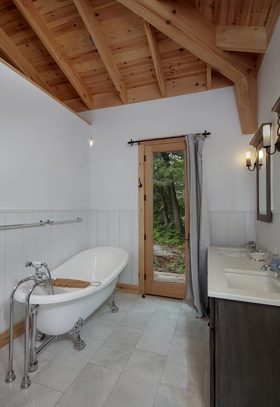Normerica Timber Frame, Interior, Cottage, Bathroom