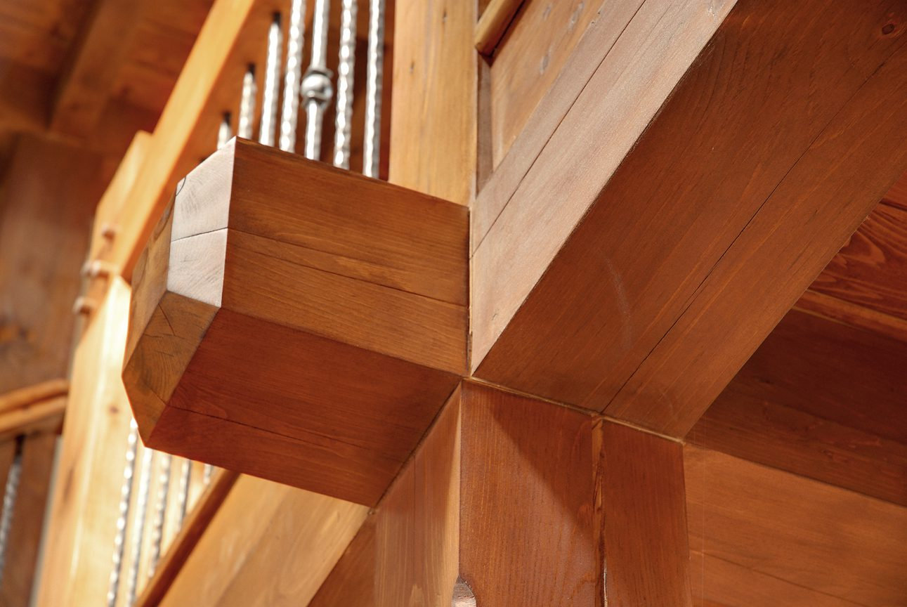 Normerica Timber Frame, Interior, Cottage, Timber Detail