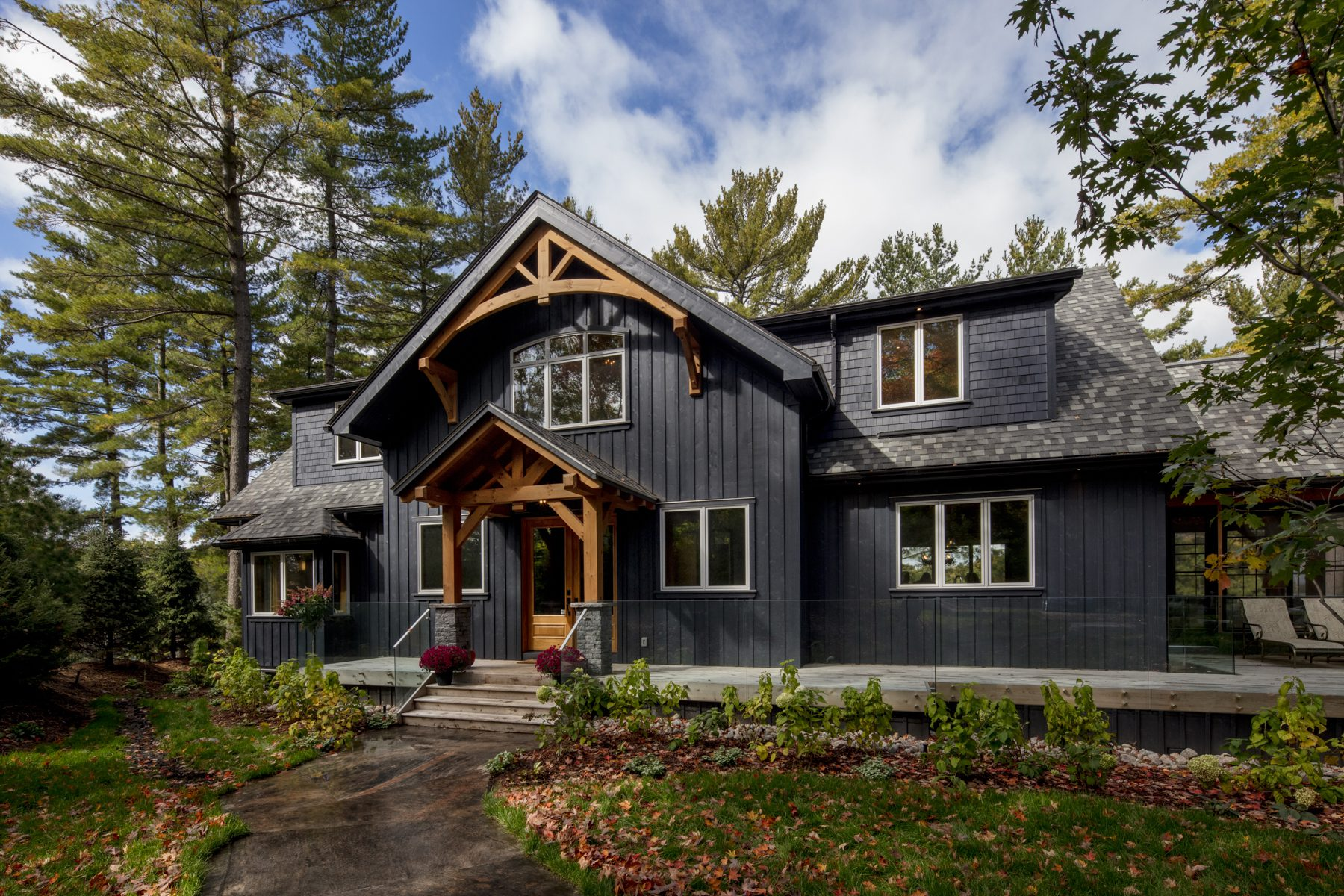 Normerica Timber Frame, Exterior, Cottage, Front