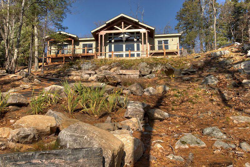 Normerica Timber Frame, Exterior, Custom, Cottage