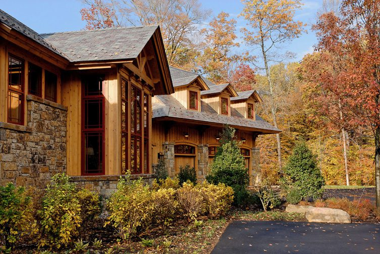 Normerica Timber Frame, Exterior, Front