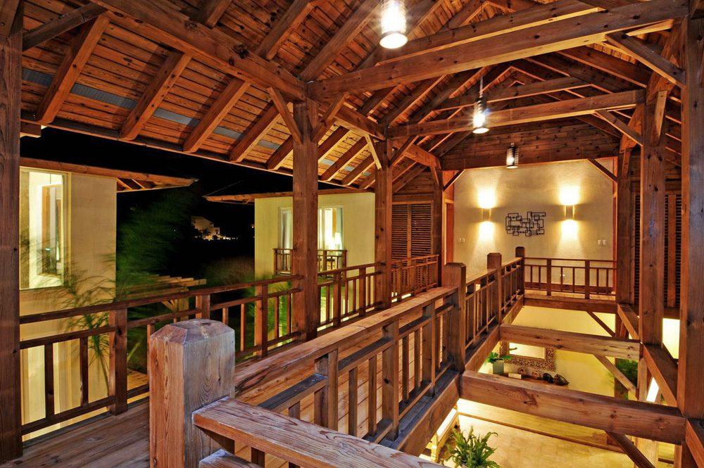 Normerica Timber Frames, Commercial Project, Las Iguanas Villas, Dominican Republic, Interior, Villas