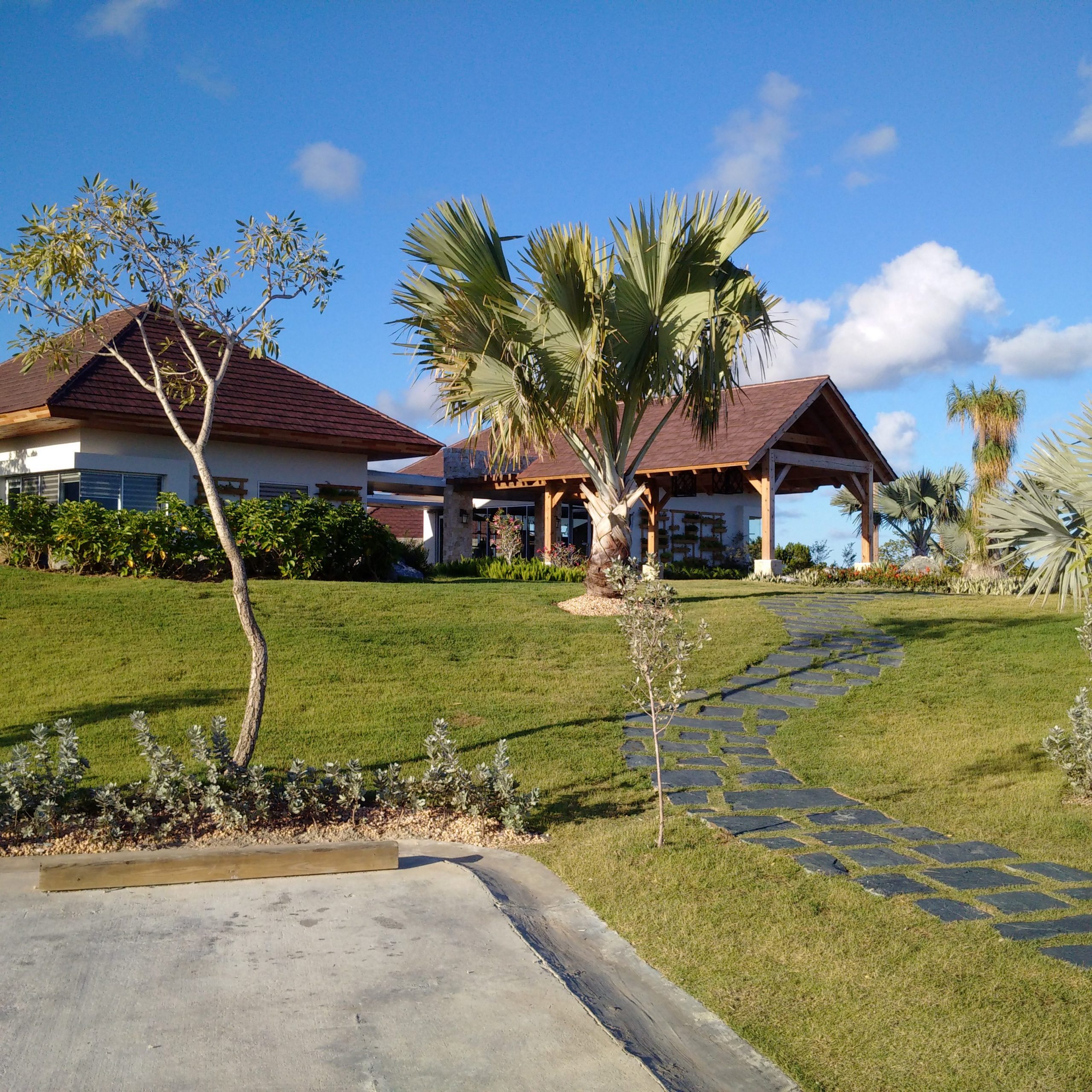 Normerica Timber Frames, Commerical Project, Dominican Republic, Los Establos, Casa Club, Resort