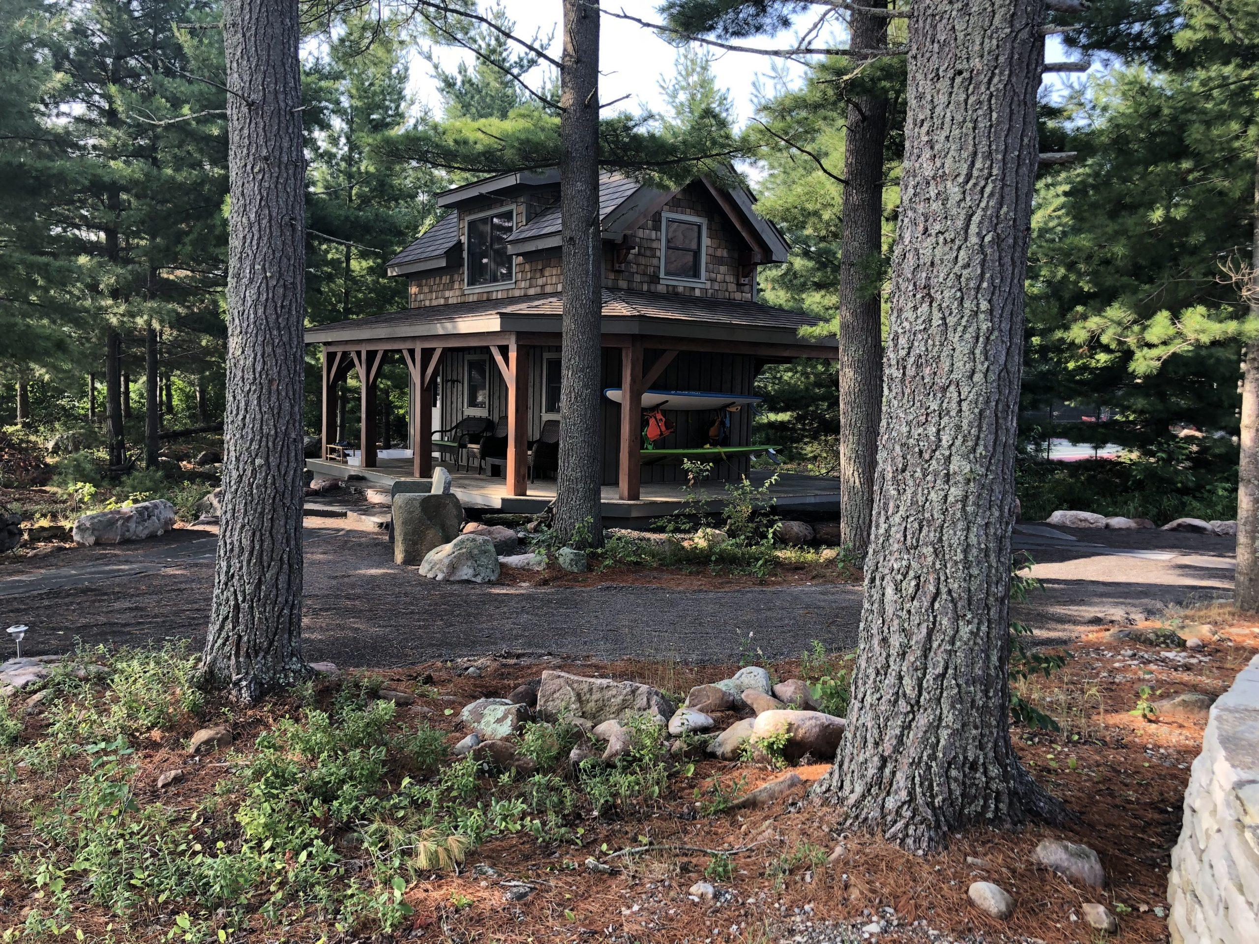 Normerica Timber Frame, Exterior, Cabin, Bunkie
