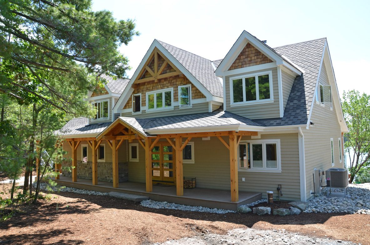 Normerica Timber Frame, Exterior, Cottage, Porch, Front