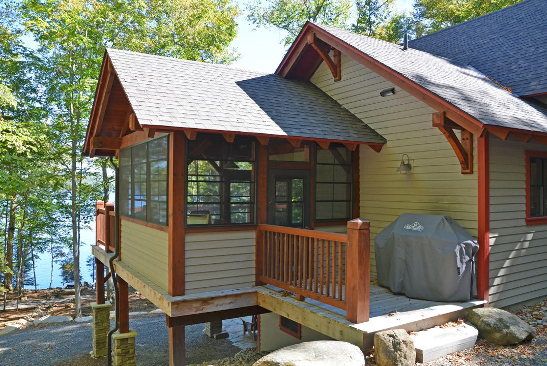 Normerica Timber Frame, Exterior, Cottage, Screened Porch