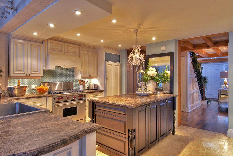 Normerica Timber Frame, Interior, Kitchen