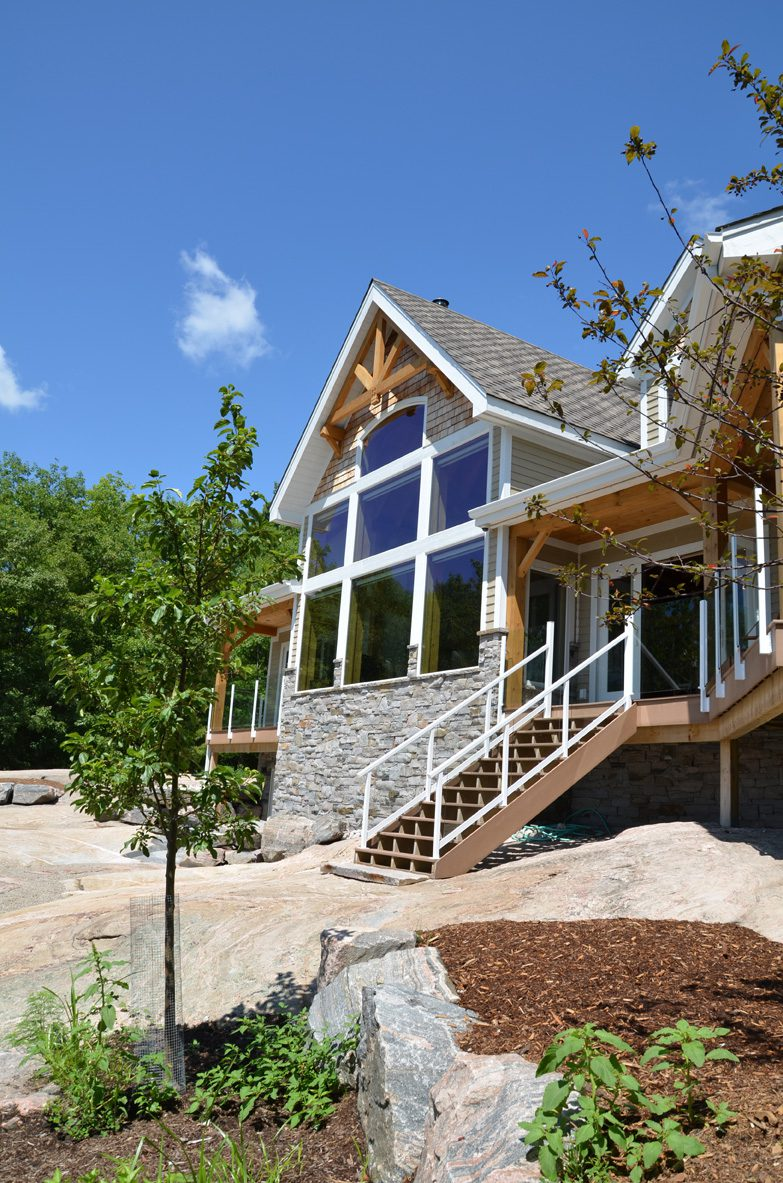 Normerica Timber Frame, Exterior, Cottage, Lakeview
