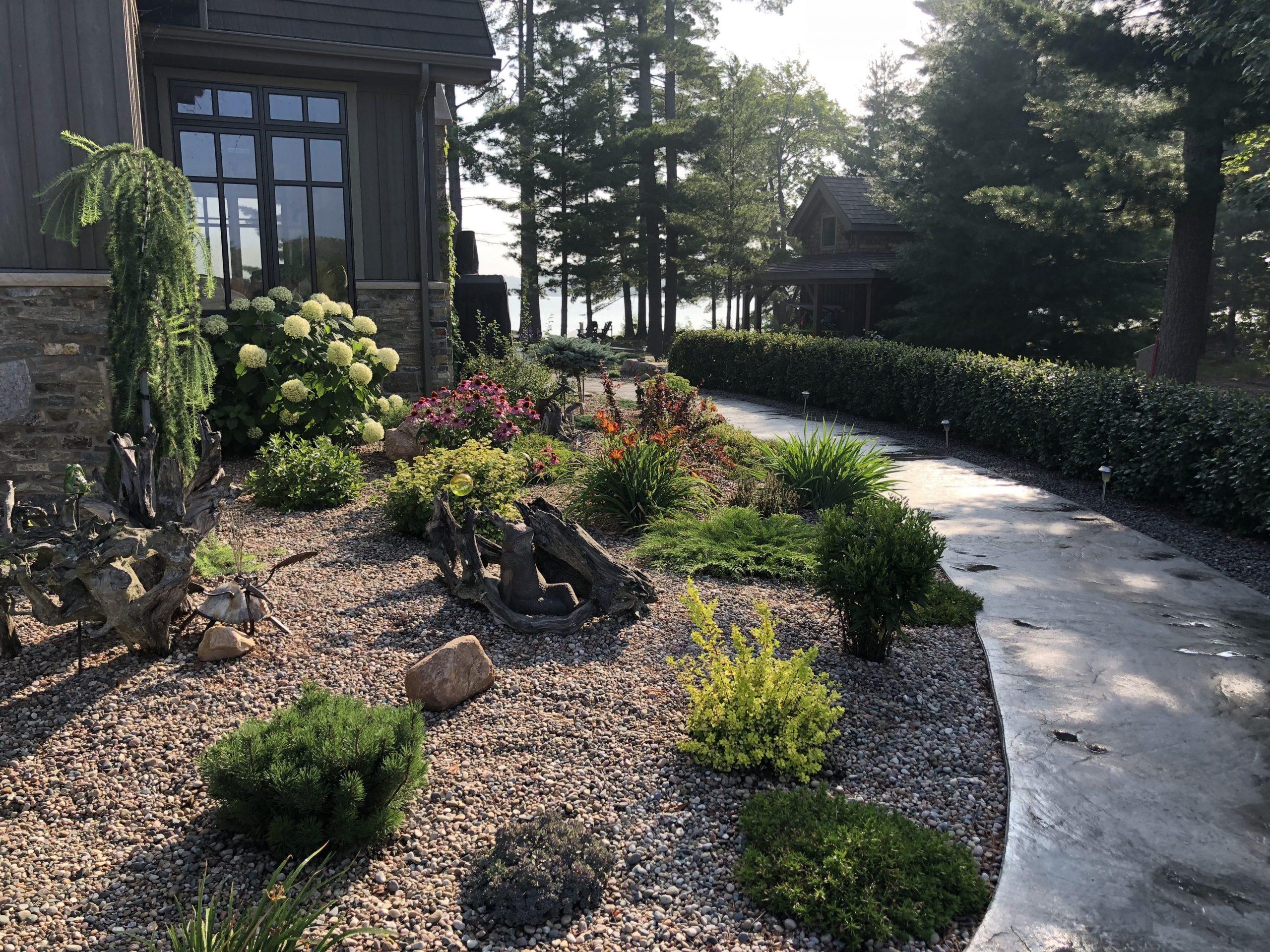 Normerica Timber Frame, Exterior, Cottage, Garden, Path
