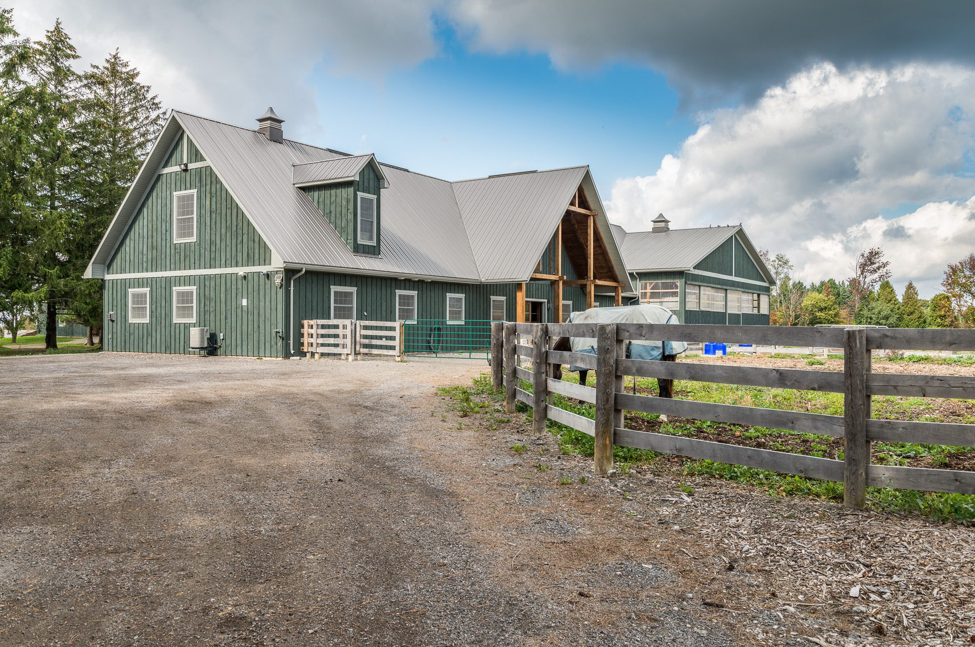 Normerica Timber Frame, Exterior, Country House, Barn, Stables