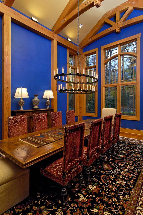 Normerica Timber Frame, Interior, Dining Room