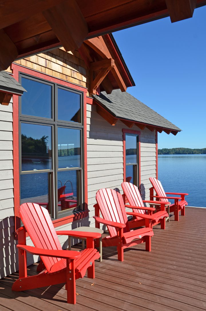 Normerica Timber Frame, Exterior, Cottage, Boathouse, Dock, Lake