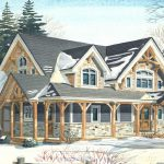 Normerica Timber Frame, House Plan, The Kearns 3510, Watercolour