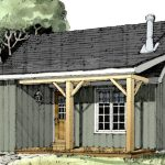 How to Build a Cabin | Cabin Plans | The Retreat 3143 | Normerica | Watercolour