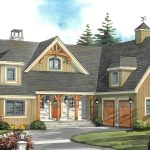 Normerica Timber Frames, House Plan, The Brennan 3576, Watercolour