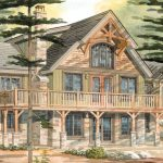 Normerica Timber Frames, House Plan, The Carleton 3115, Watercolour
