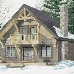 Normerica Timber Frames, House Plan, The Jackson 3605, Watercolour