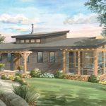 Timber Framing House Plans | The Kershaw 3808 | Normerica | Watercolour, Front
