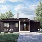 Normerica Timber Frames, House Plan, The Laurentian 3969, Exterior, Front