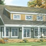 Normerica Timber Frames, House Plan, The Routt 3419, Watercolour