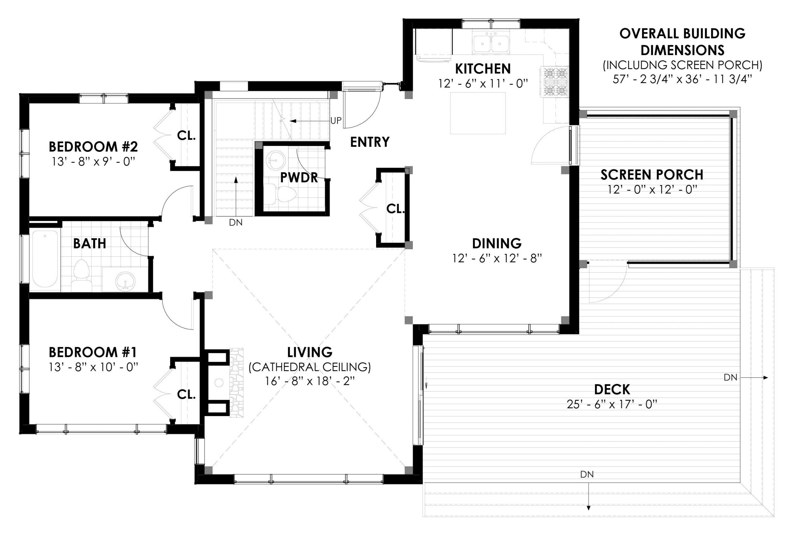 Normerica Timber Frames, House Plan, The Killarney 2134, First Floor Layout