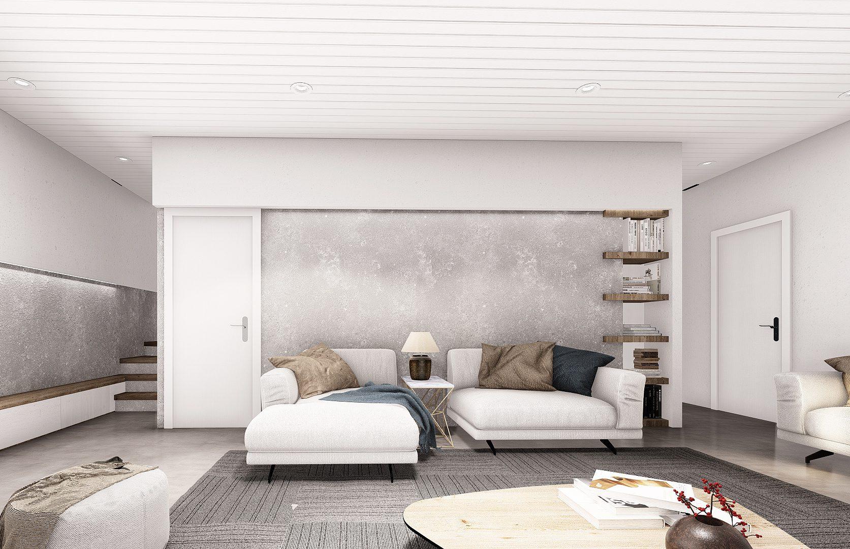 Normerica Timber Frames, House Plan, The Laurentian, Interior, Basement 1