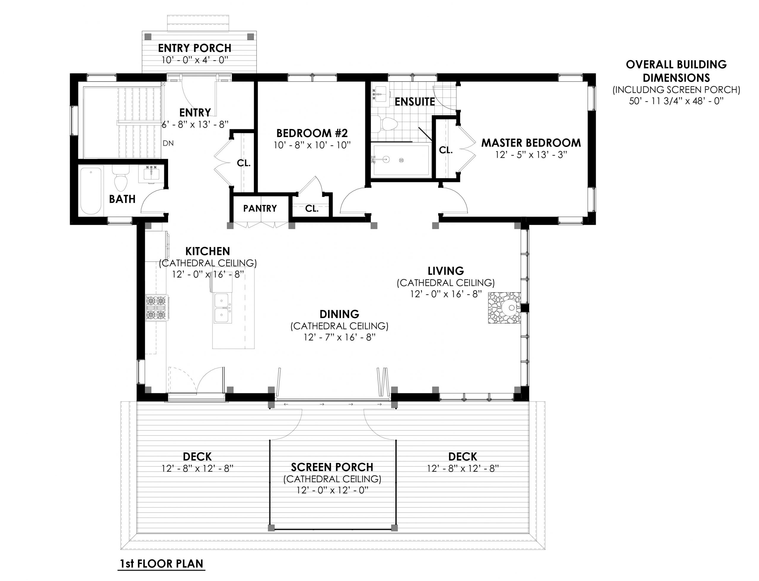 Normerica Timber Homes, Timber Frame, House Plans, The Herridge 3979, First Floor Plan