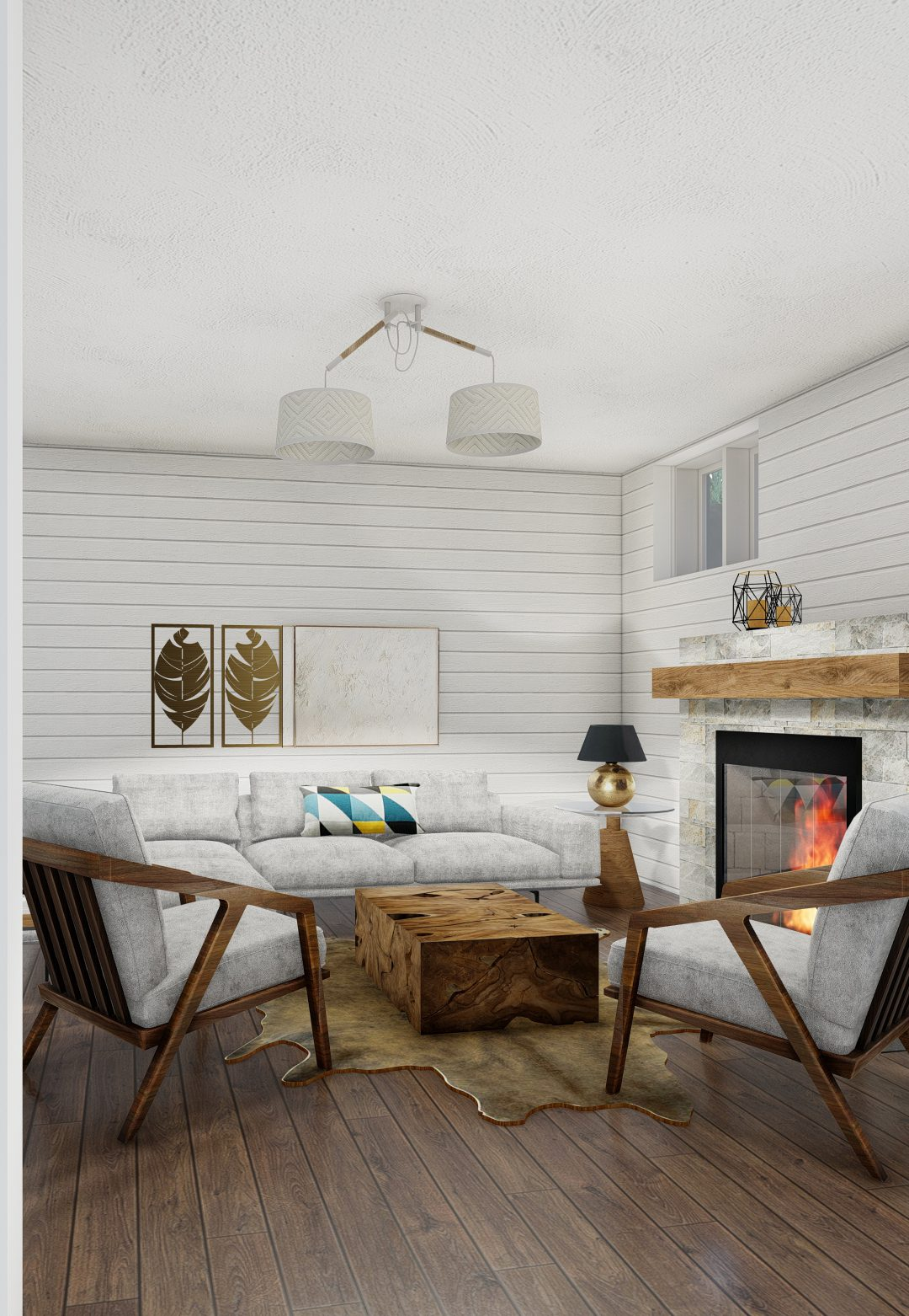 Normerica Timber Homes, Timber Frame, House Plans, The Herridge 3979, Interior, Basement