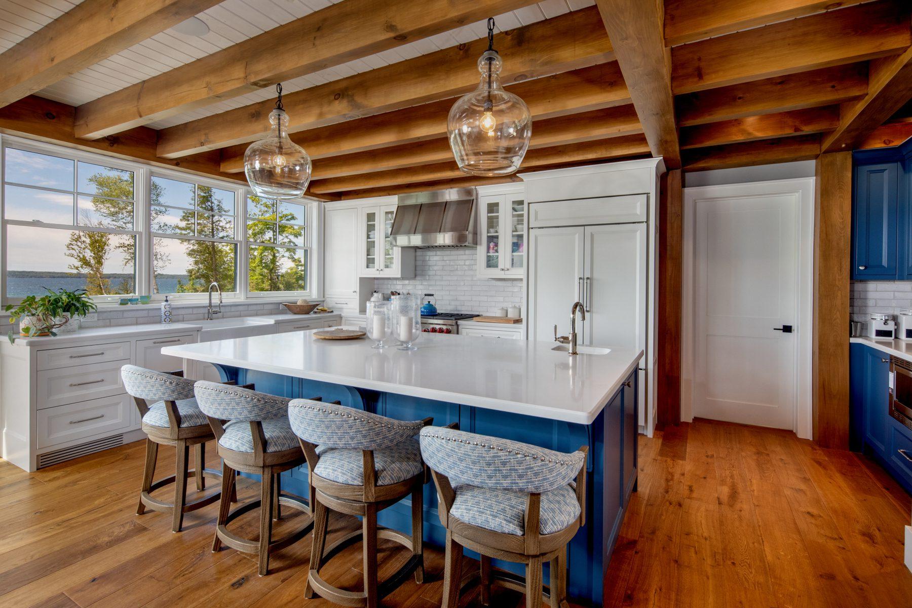 Normerica-Timber-Homes-Timber-Frame-Portfolio-Beachside-Bliss-Interior-Kitchen